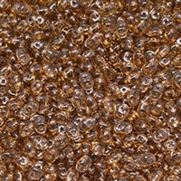 DU0510230 - SuperDuo 2.5X5mm Smoke Topaz - 8 Grams