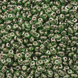 DU0550050-15726 - SuperDuo 2.5X5mm Chrysolite Lila Vega Luster - 8 Grams