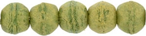 EC3-PS1005 : English Cut Round 3mm : Pacifica - Avocado - 25 Count