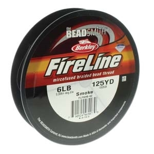 FireLine 6LB 125YD Smoke Grey