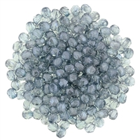 FP2-14464 - Firepolish 2mm : Luster - Transparent Blue - 25 pieces