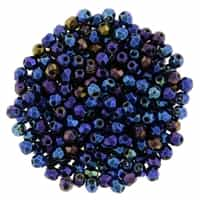 FP2-21435 - Firepolish 2mm : Iris - Blue - 25 pieces