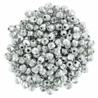 FP2-27000 - Firepolish 2mm : Silver - 25 pieces