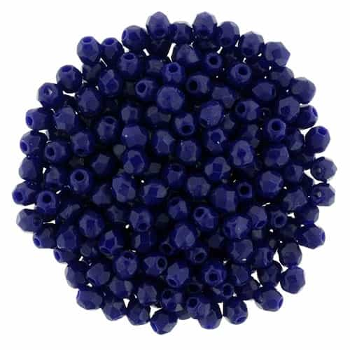 FP2-33070 - Firepolish 2mm : Navy Blue - 25 pieces