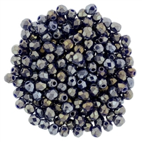 FP2-LR33070 - Firepolish 2mm : Luster Iris - Navy Blue - 25 pieces