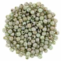 FP2-P65455 - Firepolish 2mm : Ultra Luster - Opaque Green - 25 pieces