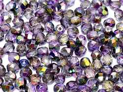 Firepolish 3mm: FP3-00030-00030-95500 - Magic Purple - 25 pieces