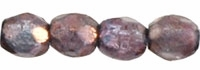 Firepolish 3mm : FP-15726 - Luster - Transparent Amethyst - 25 Count