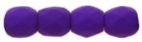 Firepolish 3mm : FP3-25145 - Neon Electric Purple - 25 Count