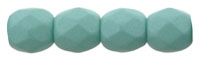 Firepolish 3mm : FP3-29569 - Saturated Teal - 25 Count