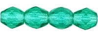 Firepolish 3mm : FP3-5072 - Emerald - 25 Count