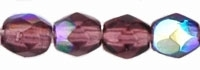 Firepolish 3mm : FP3-X2006 - Amethyst AB - 25 Count