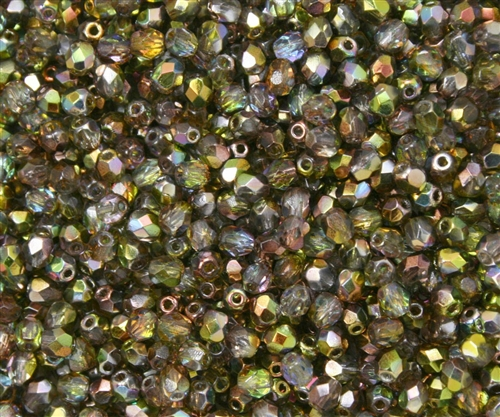 Firepolish 4mm: FP4-95400 - Magic Green - 25 pieces