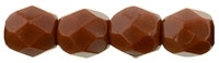 Firepolish 4mm: FP4-13610 - Umber - 25 pieces
