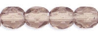 English Cut Round 4mm: FP4-14215 - Luster - Light Copper Amethyst - 25 pieces