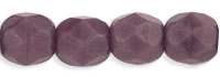 Firepolish 4mm: FP4-23030 - Opaque Purple - 25 pieces