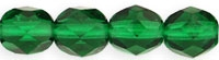 Firepolish 4mm: FP4-5014 - Green Emerald - 25 pieces
