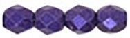 Firepolish 4mm: FP4-79021 - Metallic Suede - Purple - 25 pieces