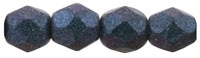 Firepolish 4mm : FP4-94105 - Polychrome - Indigo Orchid - 25 Count