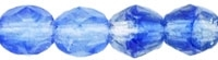 Firepolish 4mm: FP4-H0571 - HurriCane Glass - Sapphire Sky - 25 pieces