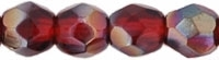 Firepolish 4mm: FP4-Z9009 - Ruby - Celsian - 25 pieces