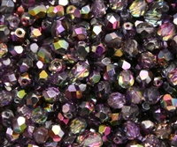 Firepolish 6mm: FP6-00030-95500 - Magic Purple - 25 pieces