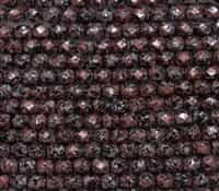 Firepolish 6mm: FP6-23980-45705 - Tweedy Red - 25 Bead Strand