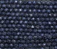 Firepolish 6mm: FP6-23980-45706 - Tweedy Blue - 25 Bead Strand