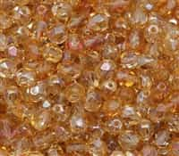 Firepolish 6mm: FP6-Z0003 - Crystal - Celsian - 25 Pieces