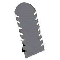 FPS14G - Flocked Plastic Stand 14 1/8 - Grey