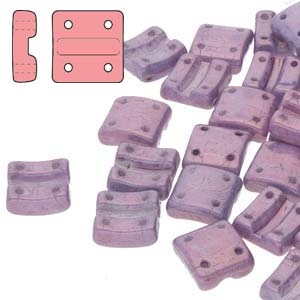 FXRV8703000-15726 - Fixer Beads with Vertical Holes - Chalk Vega - 10 Count