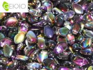 GEKKO-00030-95500 - Gekko 3 x 5 mm Crystal Magic Purple - 25 Count