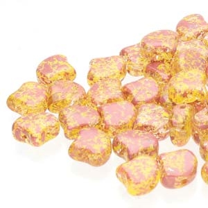 Ginko : GNK8700030-24403 - Confetti Splash Red Yellow - 25 Beads