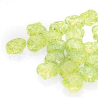 Ginko : GNK8700030-24405 - Confetti Splash Yellow Green - 25 Beads