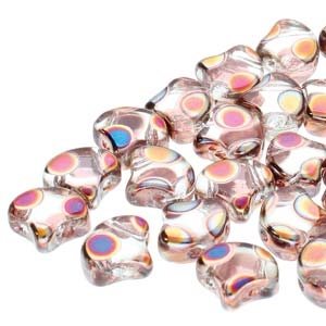 Ginko : GNK8700030-29503DO - Crystal Full Sliperit Dot - 25 Beads