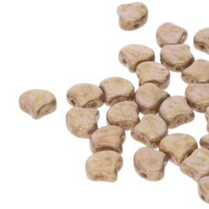 Ginko : GNK8703000-15695 - Chalk Senegal Brown - 25 Beads