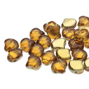Ginko : GNK7810060-26442 - Backlit Golden Ice - 25 Beads