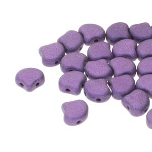 Ginko : GNK8723980-79021 - Metalic Suede Purple - 25 Beads