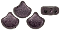 Ginko : GNK8723980-79083 - Metallic Suede Dark Plum - 25 Beads