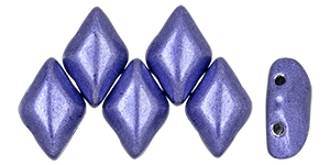 GemDuo-06B07 - GemDuo 2-Hole Beads - 5x8mm - Saturated Metallic Ultra Violet (8 Grams - Approx. 55 pcs)