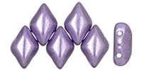 GemDuo-06B08 - GemDuo 2-Hole Beads - 5x8mm - Saturated Metallic Crocus Petal (8 Grams - Approx. 55 pcs)