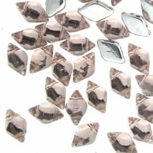 GemDuo-BL7012 - GemDuo 2-Hole Beads - 5x8mm - Backlit Rosaline (approx 55 pcs)