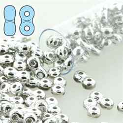 INF48-00030-27000 - Infinity Beads 4x8mm - Full Labrador - 7.5 Gram Tube (approx 90 pcs)