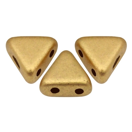Kheops® par Puca® : KHP06-00030-01710 - Matte Light Gold - 25 Beads
