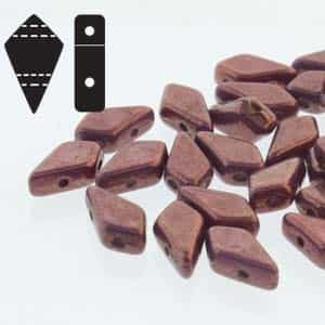 Czech Kite Beads : 9x5mm - KT9503000-15726 - Chalk Purple Vega - 25 Count