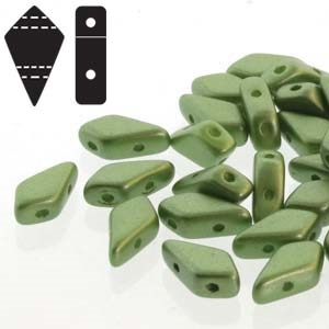 Czech Kite Beads : 9x5mm - KT9525034 - Pastel Olivine - 25 Count