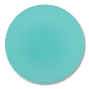 Lunasoft Cabochon - 24mm Round - Spearmint - Sold Individually