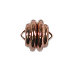 Magnetic Rose Gold Plated 11x11mm Clasp