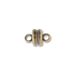 MGN06ACP - Magnetic Clasp 6mm Antique Copper Plate