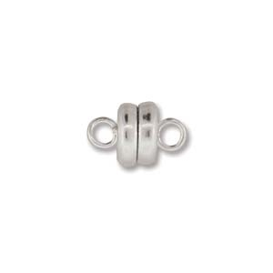 MGN06SP - Magnetic Clasp 6mm Silver Plate